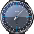 Botta Design uno 24 plus black edition blue 729710BE quartz 45mm