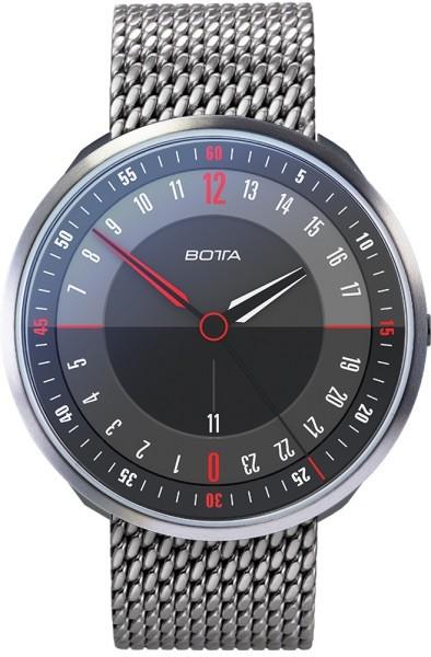 Botta Design tres 24 plus black 789710 quartz