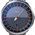 Botta Design uno 24 plus orange-black 729010 quartz 45mm