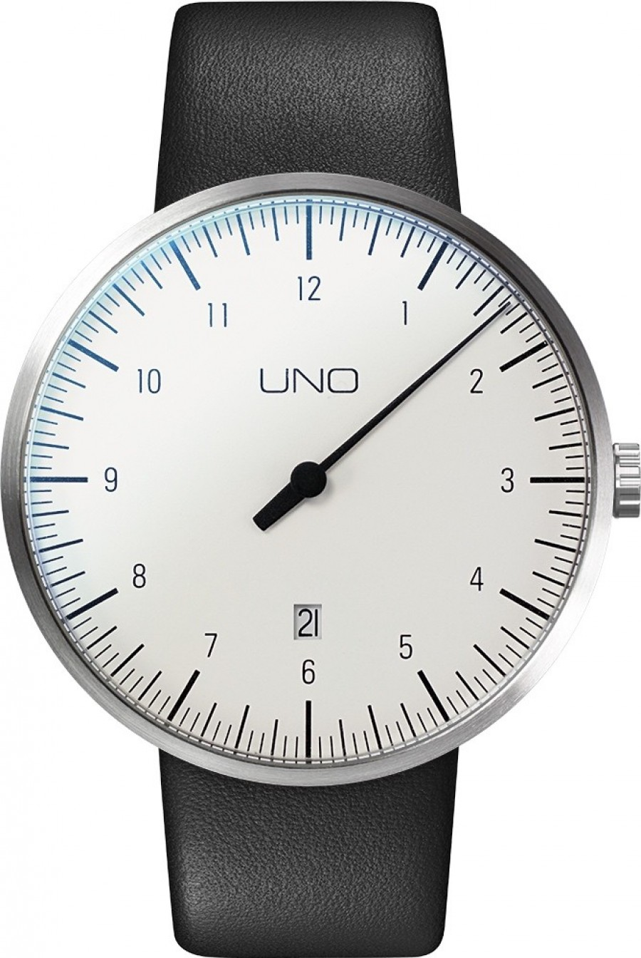Botta Design uno+ alpin automaat - leer 44mm