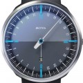 Botta Design uno 24 plus blue-black 729710 quartz 45mm