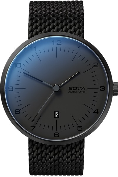 Botta Design tres automatic All Black 44mm