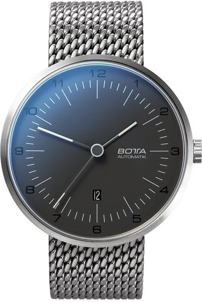 Botta Design tres automatic pearl black 44mm