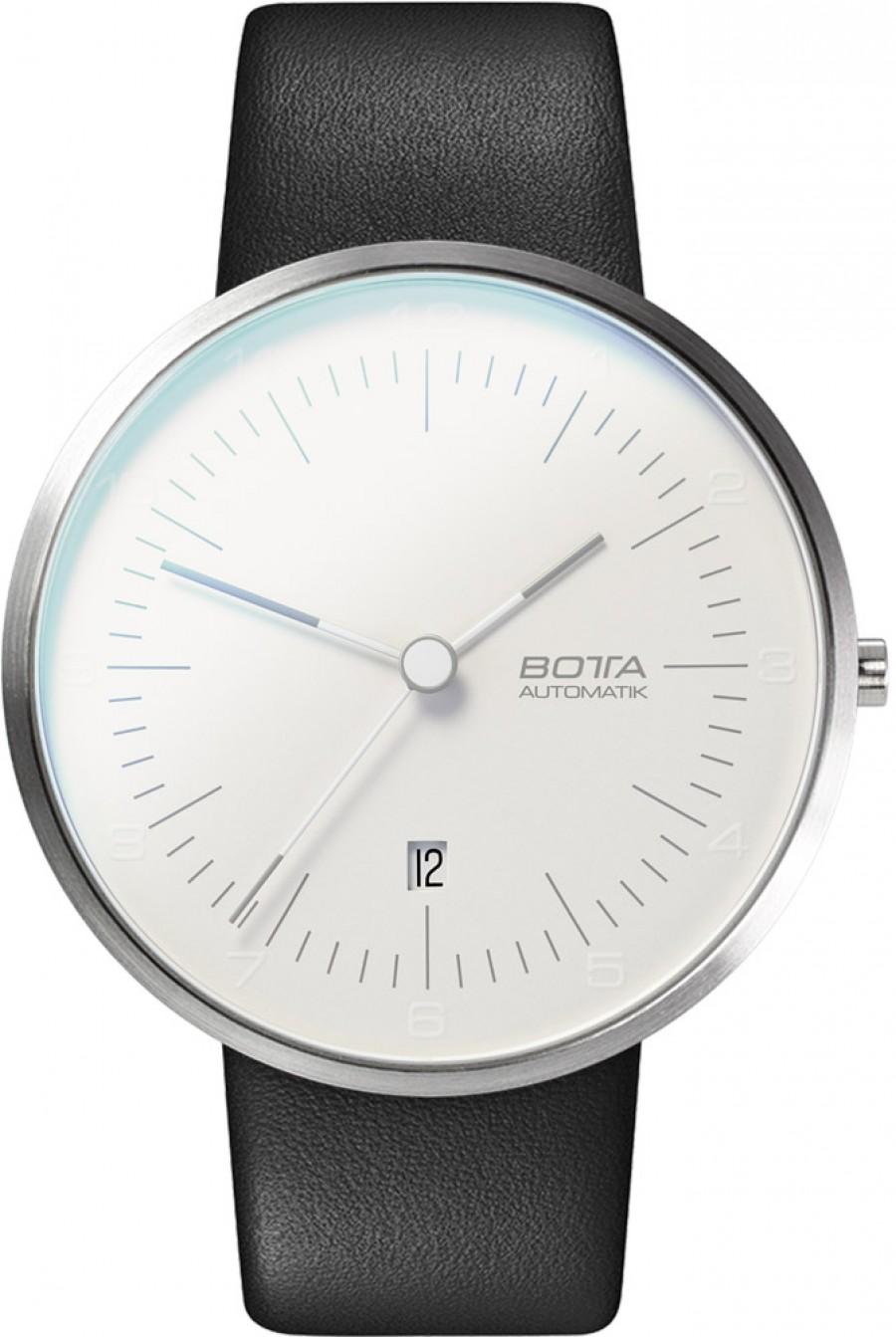 Botta Design tres automatic pearl white 44mm