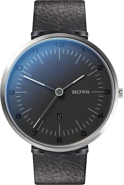 Botta Design tres plus pearl black 44mm