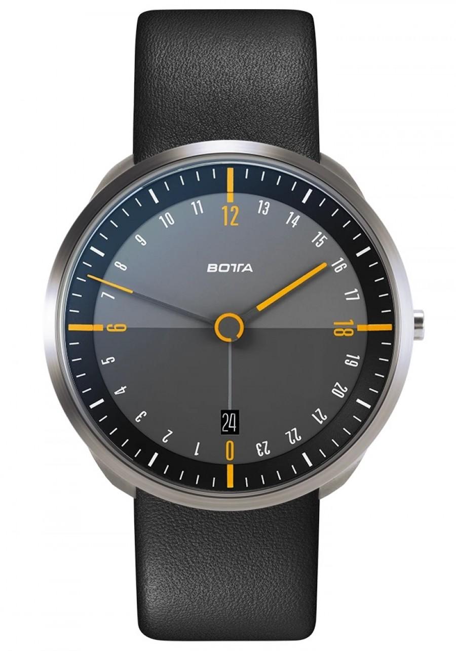 Botta Design tres 24 titan black/yellow 40mm