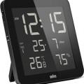 Braun wall clock bnc014bk-rc