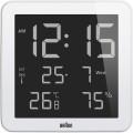 Braun wall clock bnc014WH-RC