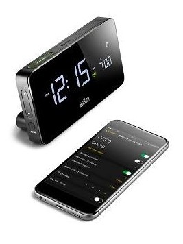 Braun connected clock BNC020BK