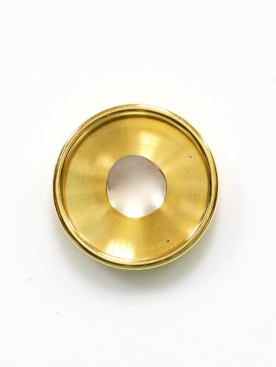 Ehinger Schwarz 1876 Charlotte 14/17mm goud vergulde schijf smalle rand