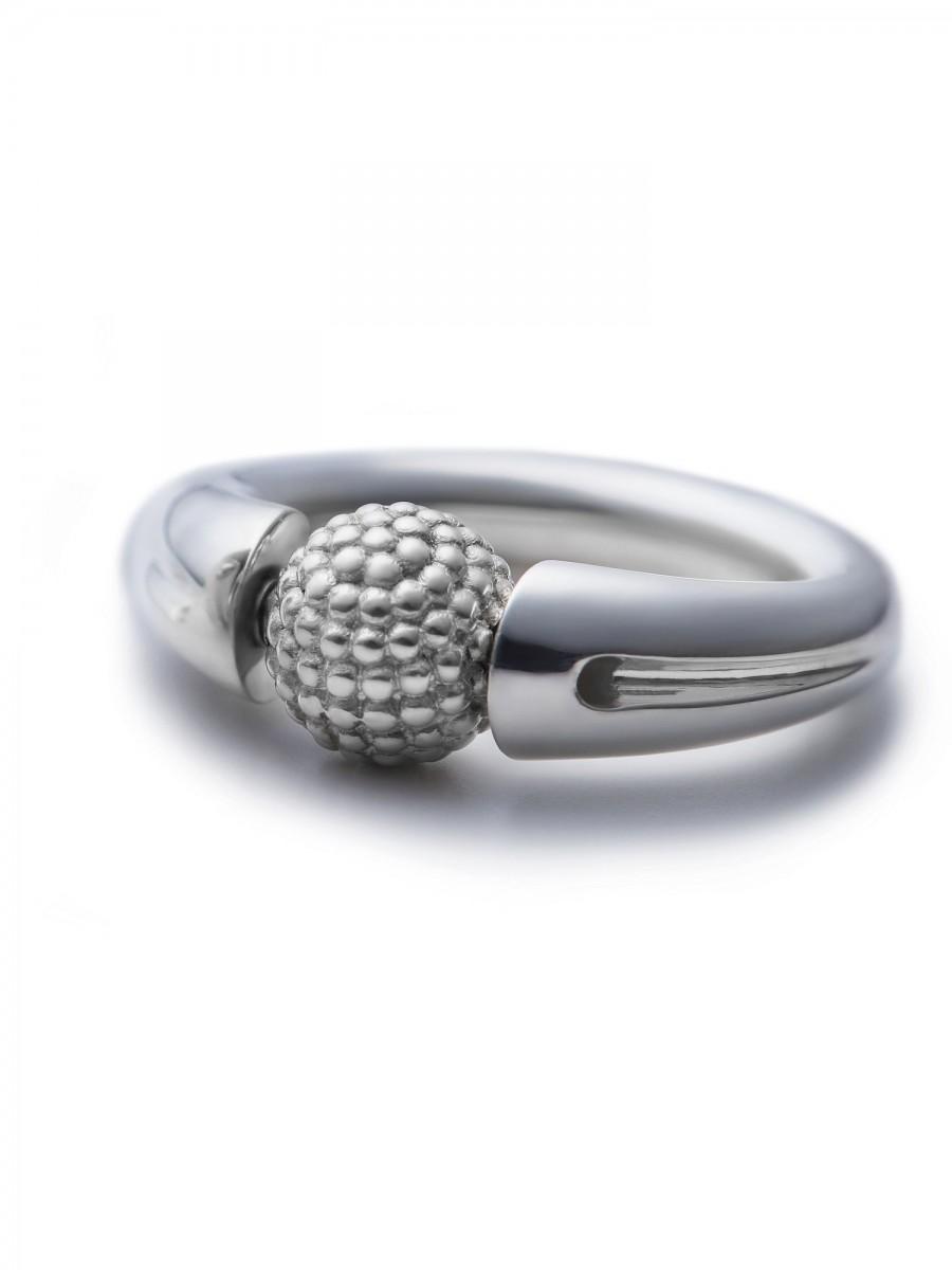 Ehinger Schwarz 1876 Tipit Luna ring / granulation Z
