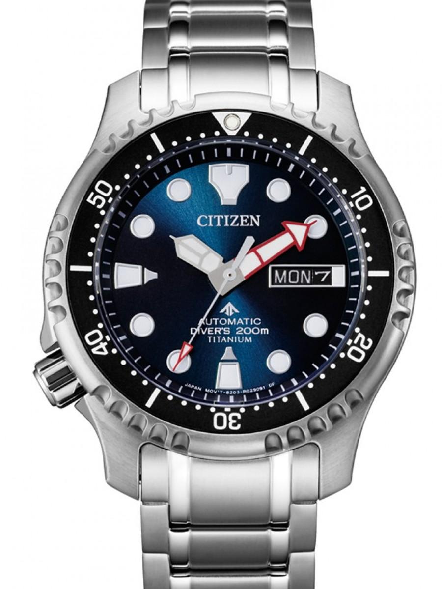 Citizen super titanium promaster sea ny0100-50me