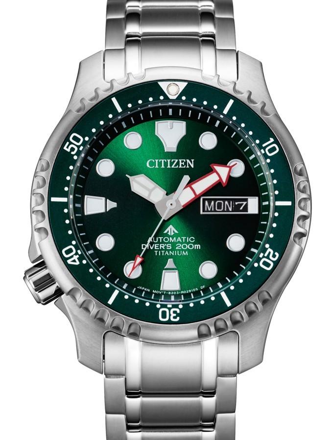 Citizen super titanium promaster sea ny0100-50xe
