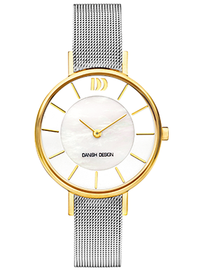 Danish Design Rømø mother of pearl two tone IV65Q1167