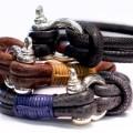 DP ART DP Art Zwart Leren armband