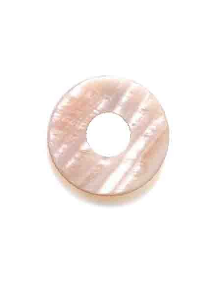 Ehinger Schwarz 1876 Charlotte schijf roze parelmoer vlak