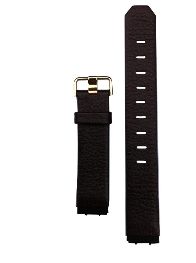 Jacob Jensen horlogeband bruin leer-gesp