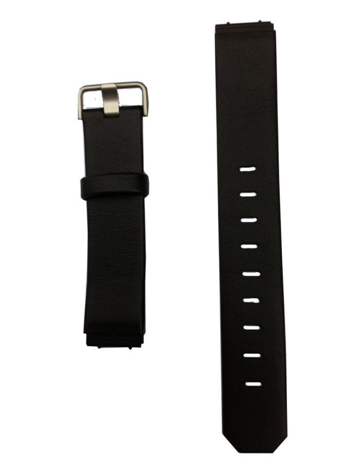 Jacob Jensen horlogeband leer zwart