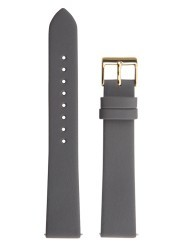 Junghans Max Bill band grijs leer