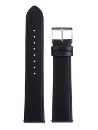 Junghans Max Bill band zwart leer