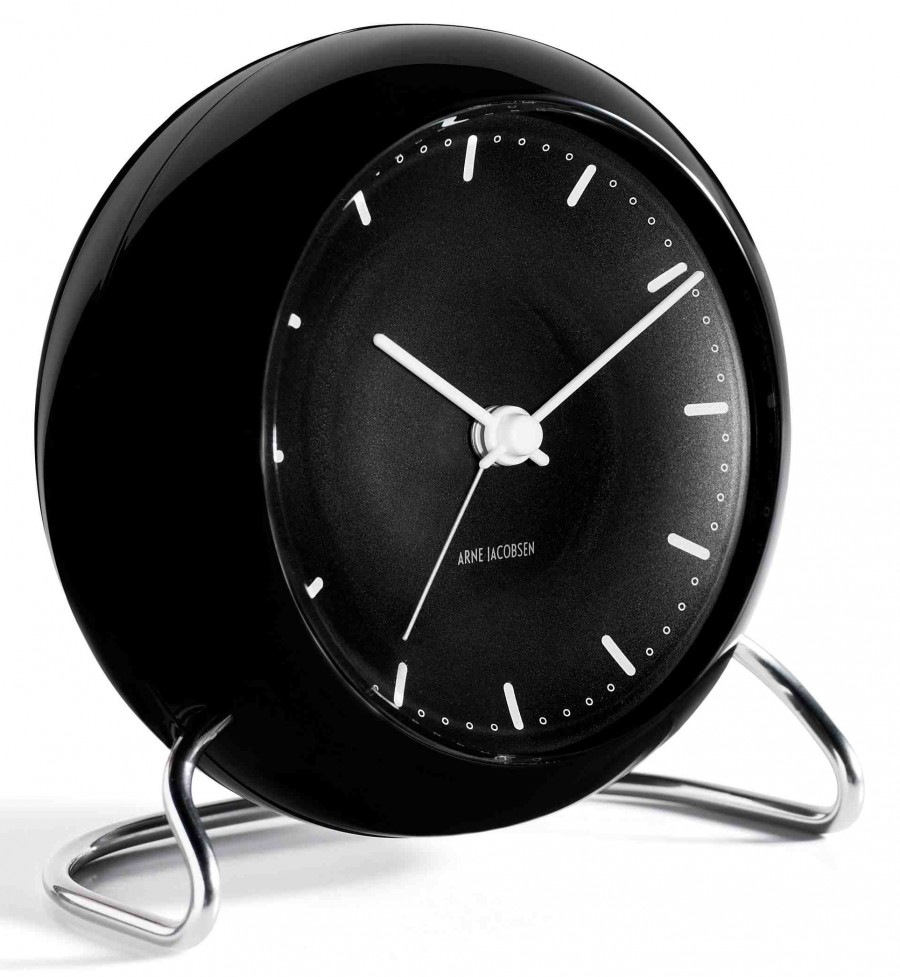 Arne Jacobsen City Hall 43673 table clock