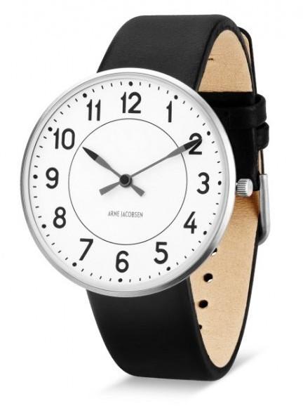 Arne Jacobsen Station horloge 53401/2 leer