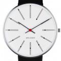 Arne Jacobsen Bankers horloge 53100/1/2/3 leer