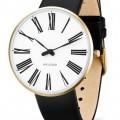 Arne Jacobsen Roman horloge 53308 leer