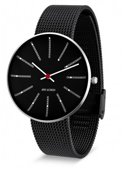 Arne Jacobsen Bankers horloge 53105
