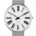Arne Jacobsen Roman horloge 53301/2/3 staal