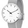 Arne Jacobsen City Hall horloge 53201/2 staal