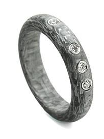 Schwab alutex ring 5 mm halfrond 0,12crt