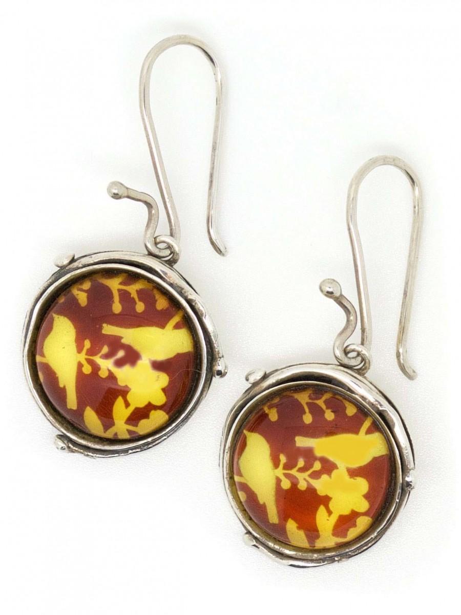 Vinx hollands Glorie oorhanger amber