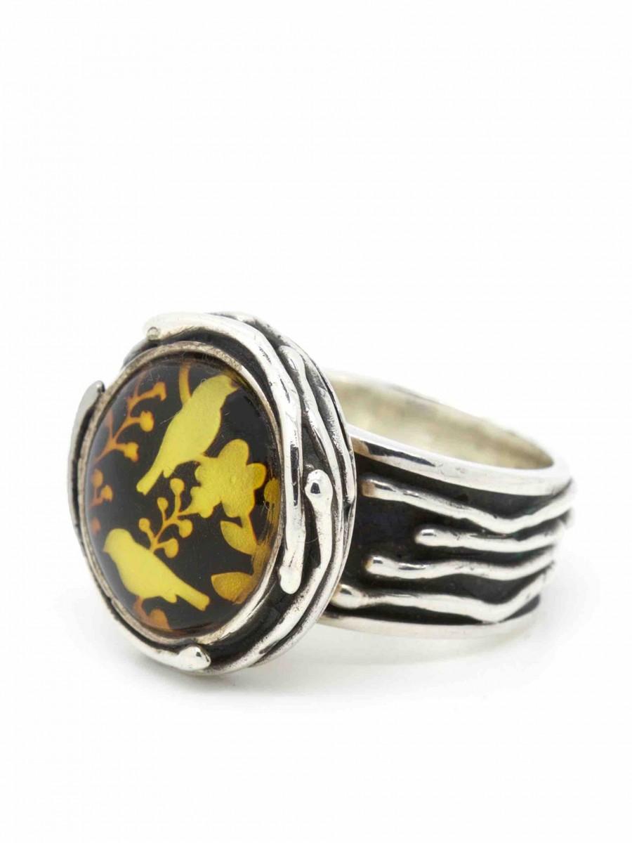 Vinx hollands Glorie ring amber nest