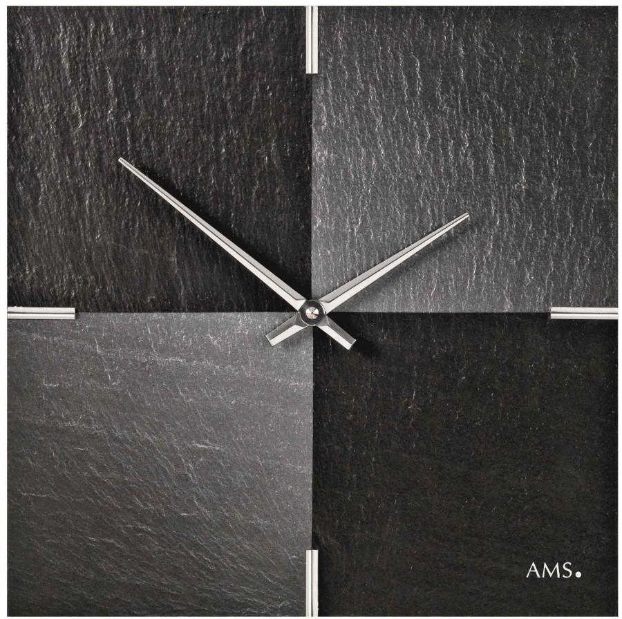 Wandklok modern AMS  9520