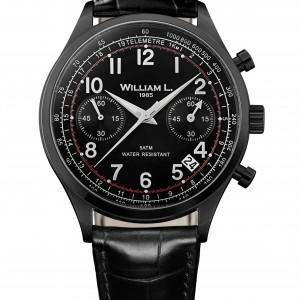 chronograph black